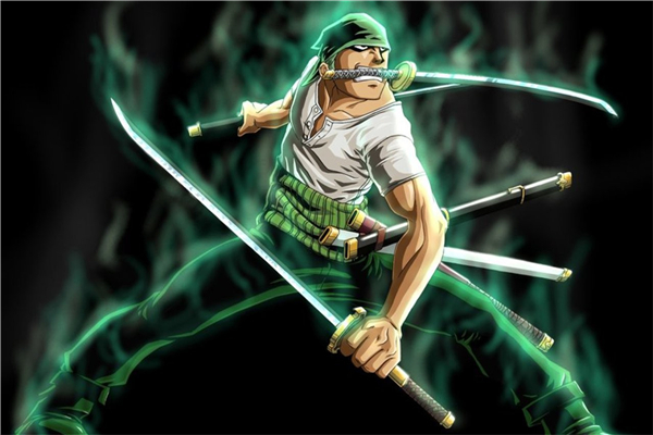 Us 1056 18 Offhome Decor Kids Wall Stickers Roronoa Zoro Custom Canvas Wallpapers One Piece Figure Posters Piece Anime Wall Sticker P1745 In
