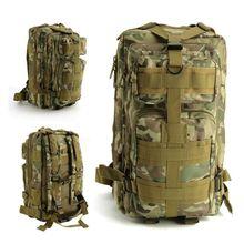 Camping caza Mil-Tec Ejército Militar MOLLE Patrulla Paquete de Asalto Mochila Táctica de Combate Mochila Bolsa de Nueva