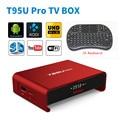 Android TV Box Amlogic S912 Android 6.0 TV Box Octa-core T95U Pro 2GB/16GB Kodi Fully Load,5G-WIFI,BT4.0,4K,H.265 set-top box
