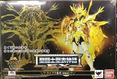 купить Bandai Tamashii Nations Saint Cloth Myth EX Saint Seiya: Soul of Gold Action Figure Libra Dohko GOD CLOTH по цене 14077.69 рублей
