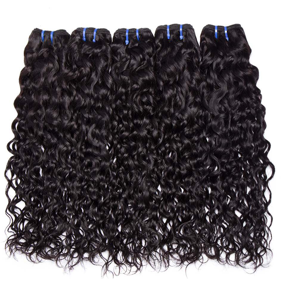 10 Bundles Deals Brazilian Water Wave Human Hair Extensions Brazilian Hair Weave Bundles Deals 1kg Alibele