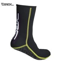 SLINX 1130 3mm Neoprene Men Women Scuba Diving Socks Swimming Swimwear Wetsuit Prevent Scratch Warm Snorkeling