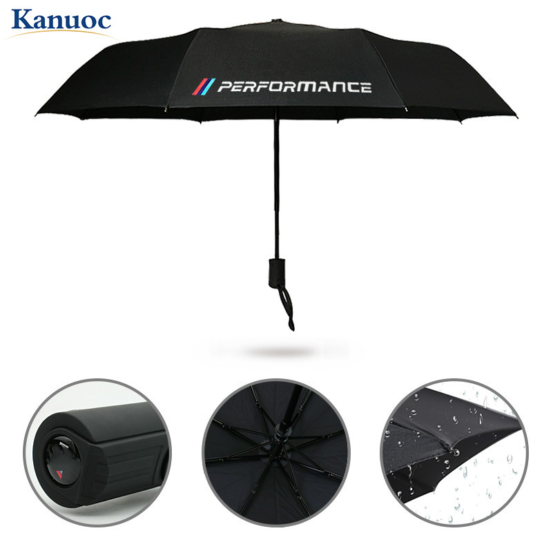 2020 New Car Styling Car Portable folding Umbrella Sunshade For BMW E46 E39 E38 E90 E60 E36  X5 X3 X6 with M performance LOGO