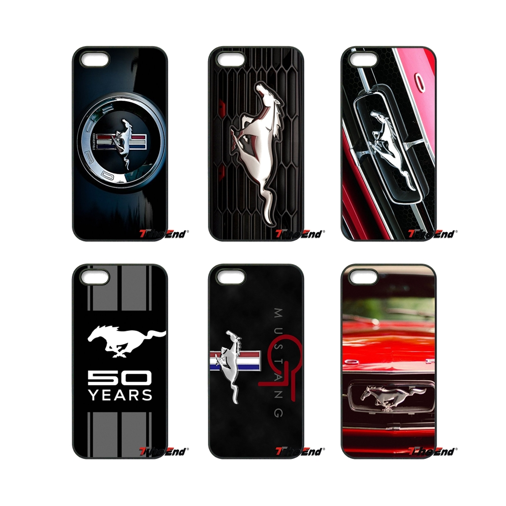 Ford Mustang Boss Car logo Print Phone Case Cover For