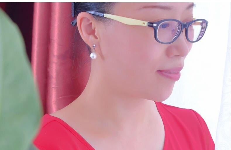 gold freshwater pearl earrings jewelry 77