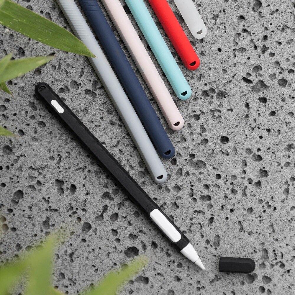 Tablet Stylus Stylus Bag Set Apple Pencil 2 Soft Protective Cover 2 Pencil 2 Protective Cover Protective Sleeve Nib Protective C