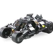 купить Decool The Tumbler Batmobile Batwing Joker7105 Batman Superhero Car Bricks Children's Toys Christmas Gifts по цене 1182.03 рублей
