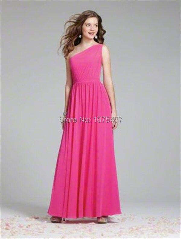 Popular Hot Pink Bridesmaids Dresses-Buy Cheap Hot Pink ...