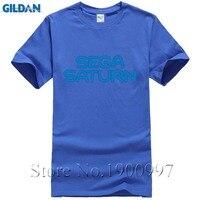 Sega Saturn Logo T-Shirt Top Lycra Da Uomo In Cotone T shirtFashion Uomo E Donna T Shirt Spedizione Shippingtwenty un pilotsWhite Stile