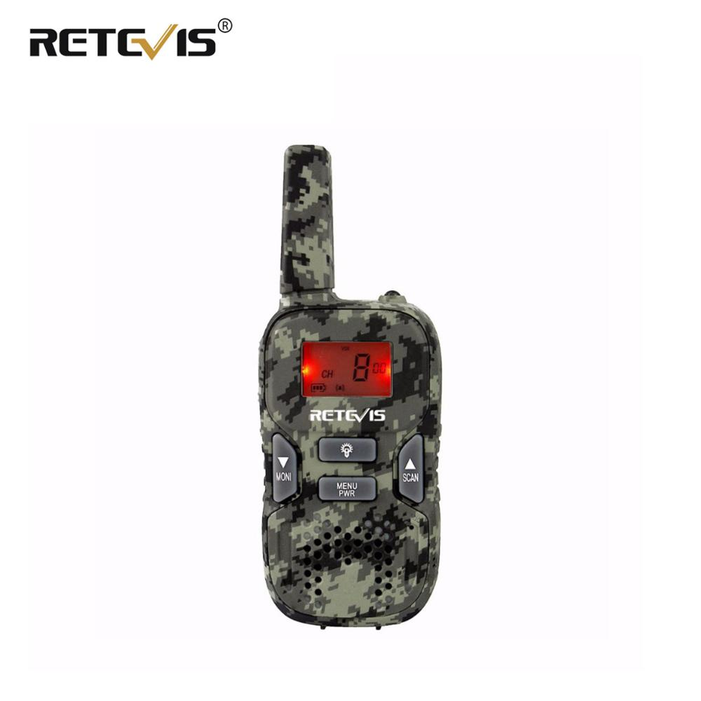 1 Piece Retevis RT33 Kids Radio Children Walkie Talkie 0.5W PMR446 8CH/22CH Scan VOX Call Tone CTCSS/DCS Flashlight J9117