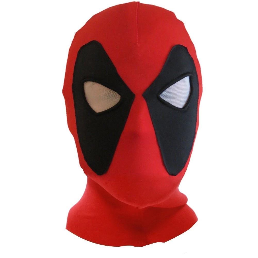 뉴 데드 풀 가면 의상 액세서리 영화 X - 남자 할로윈 코스프레 의상 성인 남성 여성 파티 마스카라 Maske