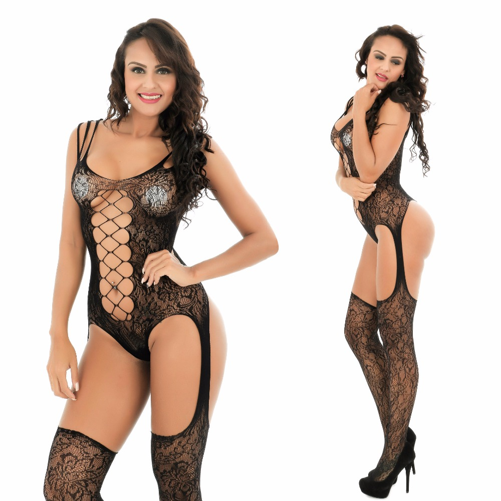 Buy 2018 Sexy Lingerie Women Erotic Lingerie Hot Sex Products Sexy Costumes Black Underwear Slips Intimates Dress Bodysocks