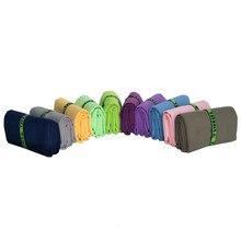 Быстросохнущее полотенце Zipsoft из микрофибры с повязкой, полотенце для путешествий, спорта, плавания, спортзала, йоги, одеяло для взрослых, сп...