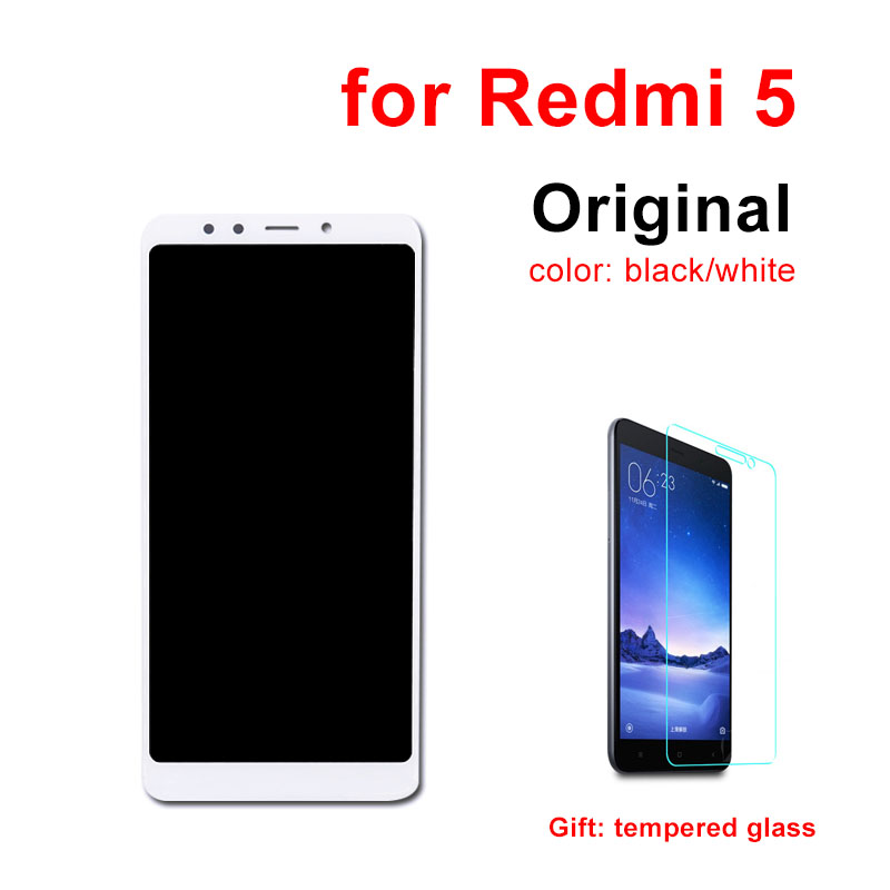 Original LCD for XIAOMI Redmi 5 LCD Display Touch Screen With Frame 5.7 inch Digitizer Replacement for Redmi 5 LCD Assembly-in Mobile Phone LCD Screens from Cellphones & Telecommunications