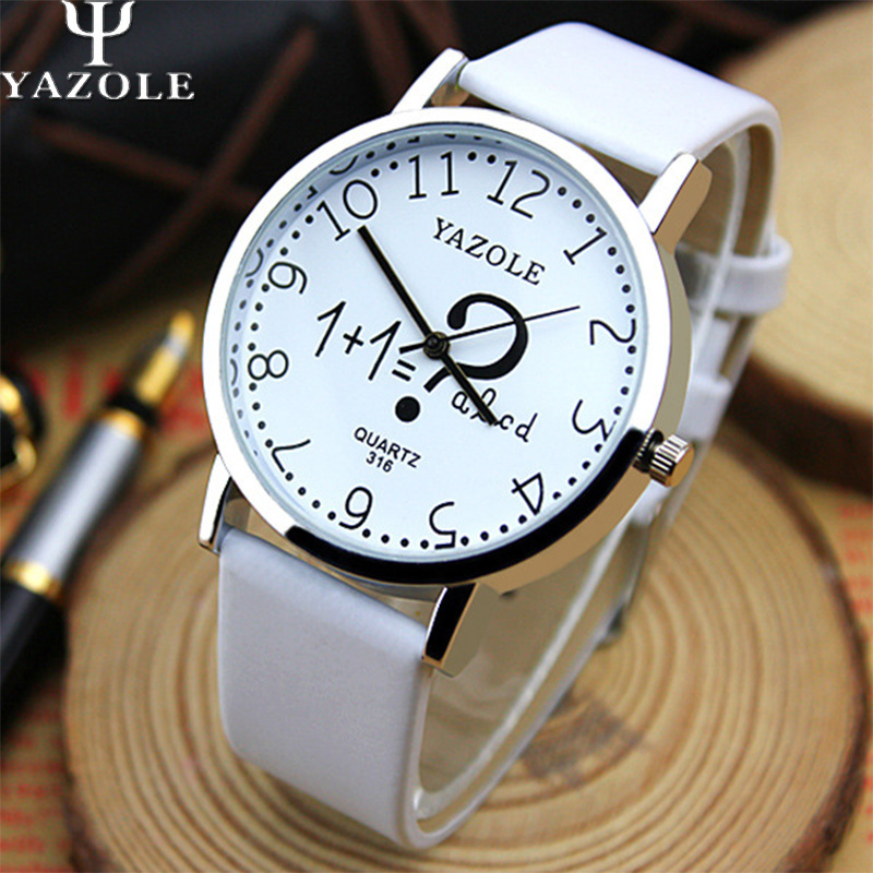 YAZOLE Wristwatch Famous Brand Wrist Watch Women Watches Ladies 2017 Female Clock Quartz Watch for Montre Femme Relogio Feminino