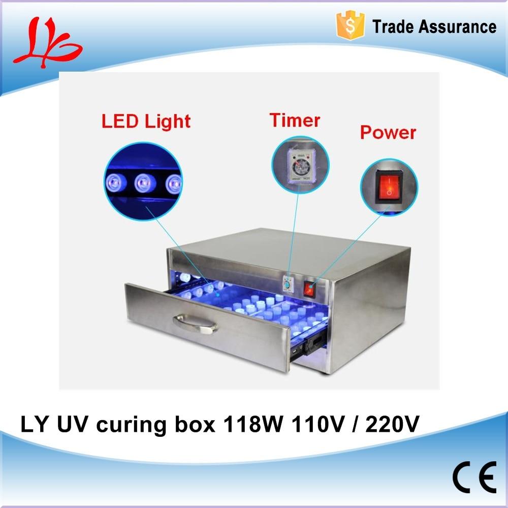 2016 new LY UV curing box 118W 110V-220V. led uv curing lamp uv curing box uv curing oven ...