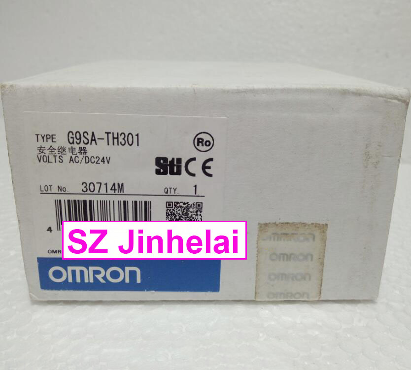 New and original  G9SA-TH301  AC/DC24V  OMRON SAFETY RELAY UNIT 100% new and original cj1w nc433 omron position control unit