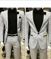 Brand New Mens Dinner Party Prom Suits Groom Tuxedos Groomsmen Wedding Blazer Suits (Jacket+Pants) K:1493