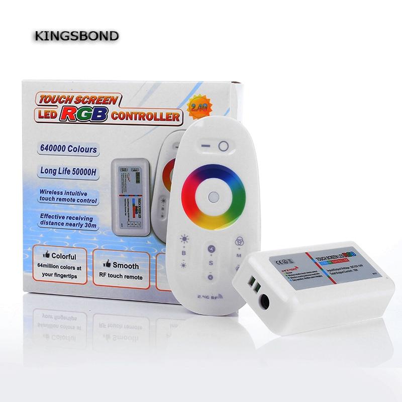 Controladores Rgb toque de controle remoto dc12-24v Potência : 216w