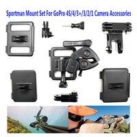 Бесплатная Доставка! открытый винтовка Gun/удочку/лук спортсмен Крепление камеры зажим для GoPro 2 3 4