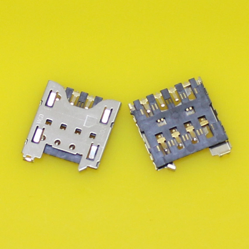 2pcs/lot Brand New sim card socket reader holder slot tray adapters for Blackberry Q10 Z ...
