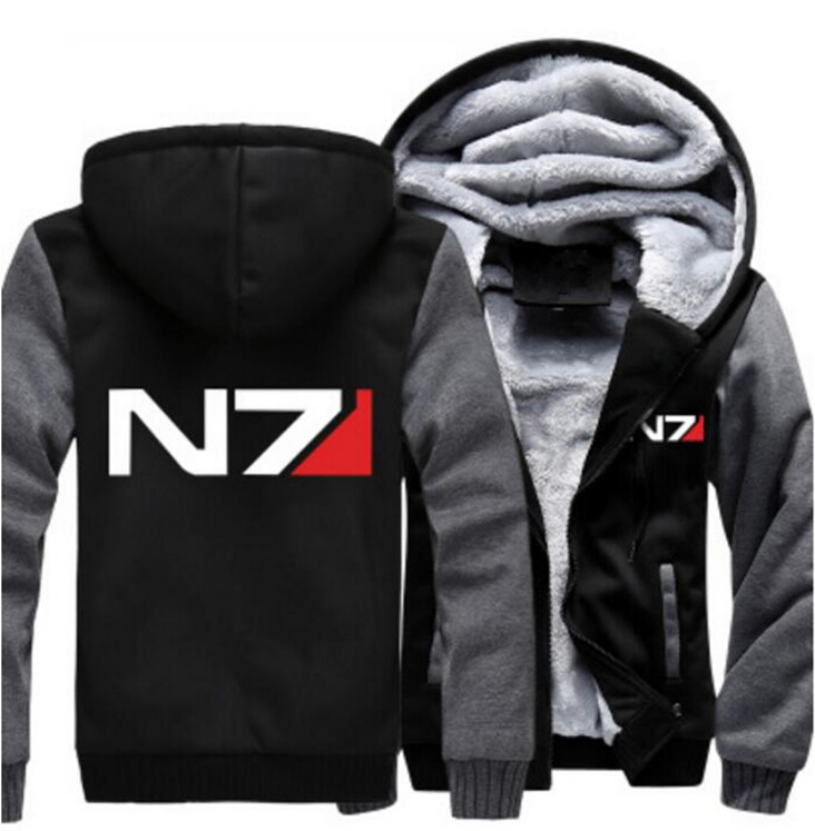 USA SIZE Hoodies Men Jackets Winter Thick Hooded Coat Warm Outerwear Plus Size