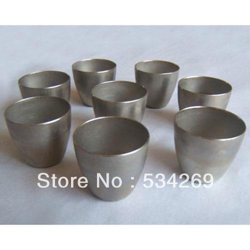 Iron / Nickel Laboratory Crucible 30ml and 50ml 50ml nickel crucible no cover good quality