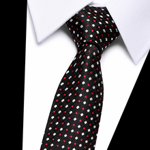 Joy alice Brand New Fashion dot Tie Gradient Green Necktie For Men Jacquard Woven Silk Corbatas Hombre Suit Wedding