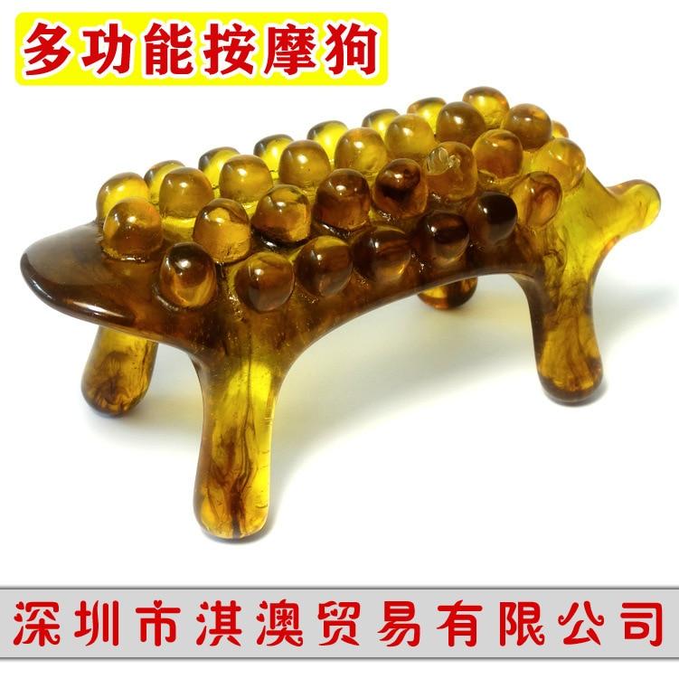 серьги amber wins the world Multifunctional cervical spine massage dog amber power tiger Massage tiger scrapping the dog Cervical spine massager