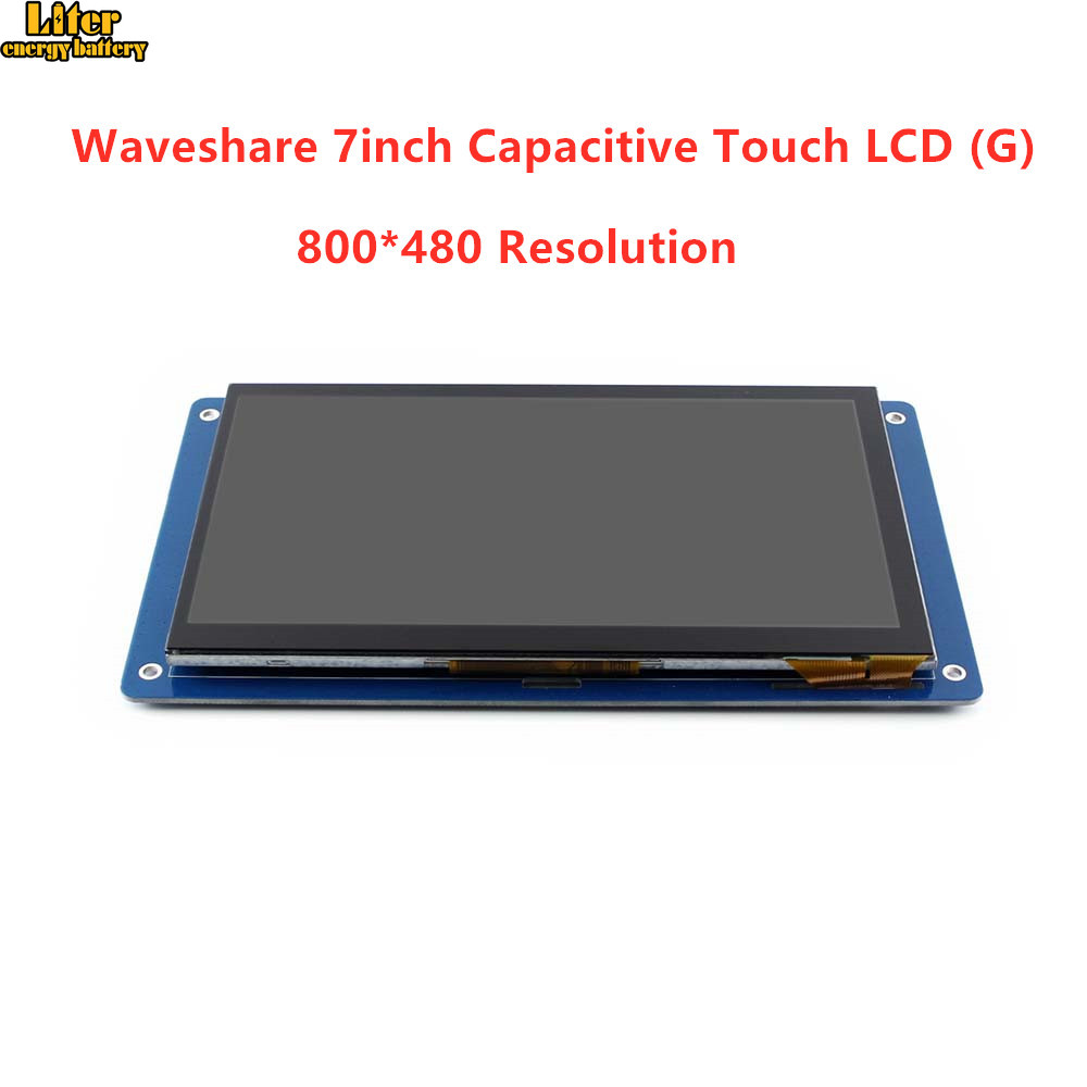 7inch Capacitive Touch LCD (G) 800 * 480 Pixel TFT LCD 24-bit Parallel Interface Stand-alone Touch Controller