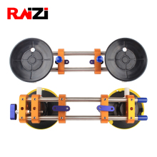 Raizi 2 Pcs Stone Seam Setter for Joining Leveling Granite Countertop Seamless Installation Tools With 6 inch vacuum suction cup