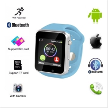 2016 neue sim-karte smartwatch 1,54 zoll TFT LCD touchscreen A1 bluetooth android smart uhr