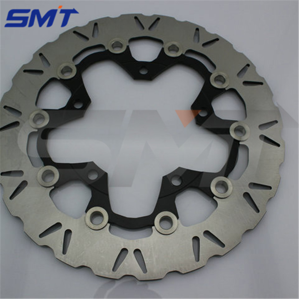 motorcycle alloy inner ring & Stainless steel outer ring front brake disc roto For SUZUKI GSF650 BANDIT ABS/NON 2007 2008 2009 new arrival 2 pieces motorcycle accessories front brake discs rotor for suzuki gsf650 bandit abs non 2007 2008 2009