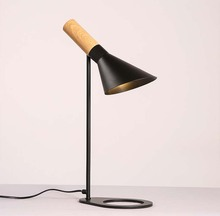цены на BOKT LED Iron Table Lamp Creative American retro desk bedroom Desk Lamp adjustable Light Direction  в интернет-магазинах