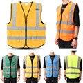 Vestuário de alta Visibilidade Vestuário De Segurança Refletivo Colete L, XL, 5 Cores Trabalho Nocturno de Tráfego de Segurança Ciclismo