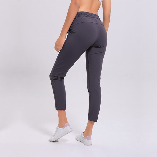 NWT Women Workout Running Leggings 4 Way Stretch Fabric Super Quality Yoga Pants with Side Pockets Outdoor Sports Tights 6