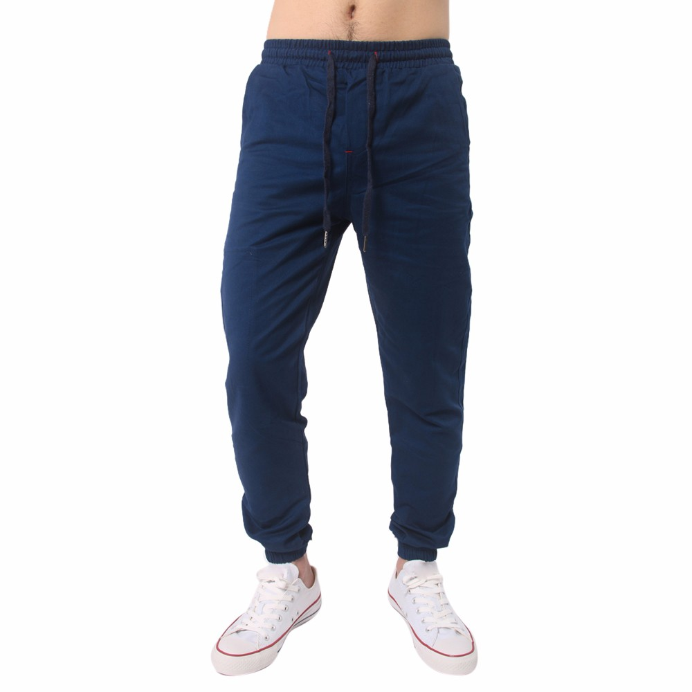 Male Trousers joggers sweatpants for men pants casual High Quality in Two Colour New Fashion Soft mens compression pants Cotton