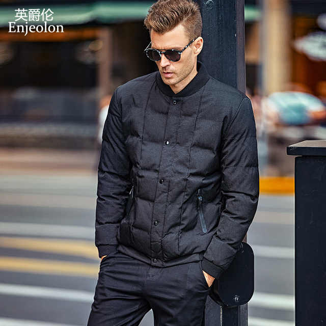 040d37683e6 Enjeolon Brand Cotton Padded Jacket Men windproof,Parka Men Clothing Thick  Quilted plus size S 3XL Coat Mens WT0260-in Parkas from Men's Clothing & ...