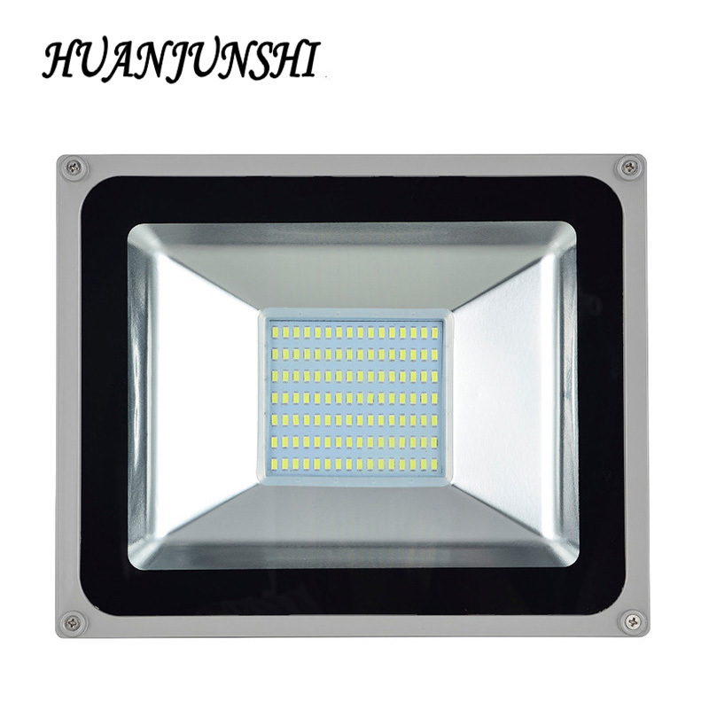 IP65 220V 100W Waterproof LED FloodLight outdoor lighting Projecteur Foco Led Floodlight Refletor Spotlight Outdoor Exterieur ultrathin led flood light 200w ac85 265v waterproof ip65 floodlight spotlight outdoor lighting free shipping