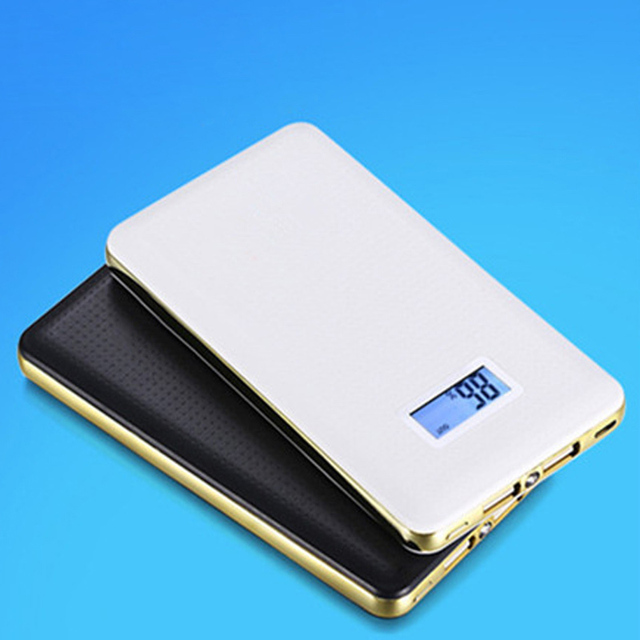 DCAE Power Bank 10000mAh Dual USB Mobile Phone Portable Charger Powerbank Backup External Battery for iPhone Samsung Xiaomi