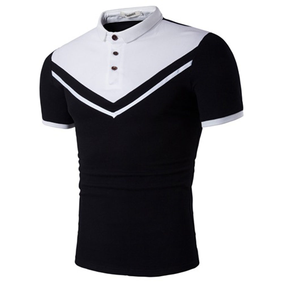 ZOGAA Brand New Men   Polo   Shirt Men Business Casual Solid Male   Polo   Shirt Short Sleeve Color Block   Polo   Shirt Slim Fit   Polo   Mens