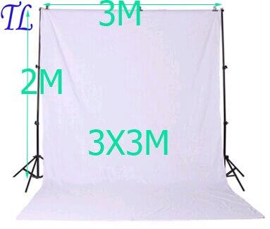 DHL gratuit photo studio accessoires Support de fond 3X3 M fond vert blanc noir couleur mousseline 2x3 m Support de toile de fondDHL gratuit photo studio accessoires Support de fond 3X3 M fond vert blanc noir couleur mousseline 2x3 m Support de toile de fond