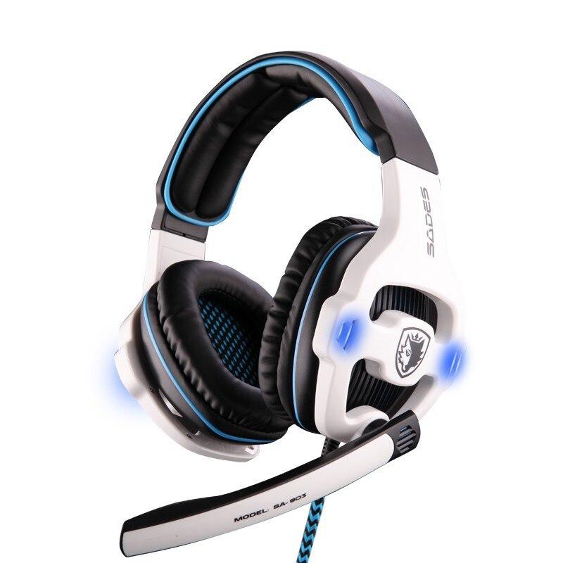 Auriculares para juegos profesionales Sades SA-903 con aislamiento - Audio y video portátil - foto 2