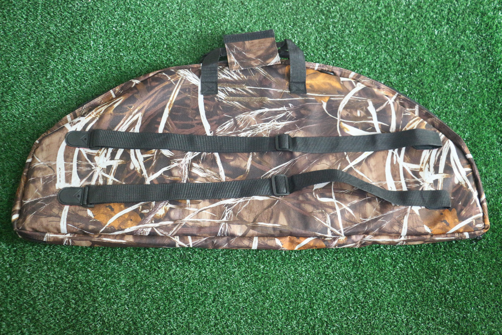 1pcs Archery Hunting Compound Bow Camo Bag with Arrow Bag in Bow Arrow from Sports Entertainment