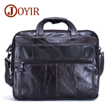 hot deal buy joyir men briefcases genuine leather vintage handbag 15