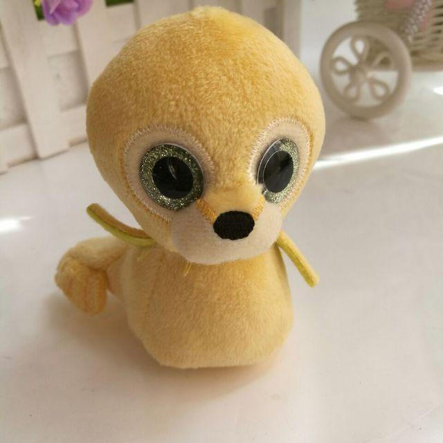 Tusk Walrus TY basket beanies 8CM In Stock Original Big Eyed Stuffed Animal  Toy Birthday Gift 6319d6362a30