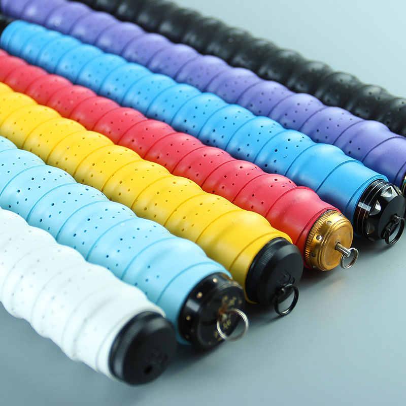 LINNHUE 抗のテープ 110 センチメートル防止手のひら緩和と汗釣竿アクセサリーテープロッド 8 色