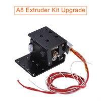 MK8 Extruder Kit Extruder Motor Cartridge Heater Tube Thermistor Nozzle Kit