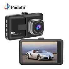 """Podofo 3 """"Car Video Recorder DVR HD 1080 P Videocamera per auto Dash cam di Visione Notturna Motion Detection Registrazione del Ciclo Registrator dashcam"""