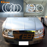 For Chrysler 300C 2004 2005 2006 2007 2008 2010 Excellent 4 pcs Ultra bright illumination ccfl angel eyes Halo Ring
